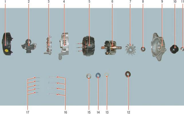 Как заменить подшипники в генераторе шевроле лачетти