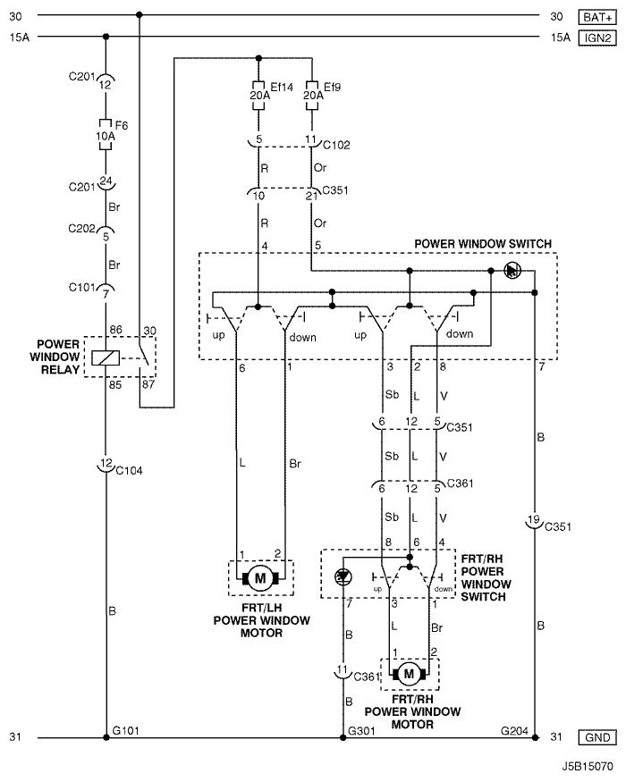 chevrolet lacetti схема стеклоподъемников