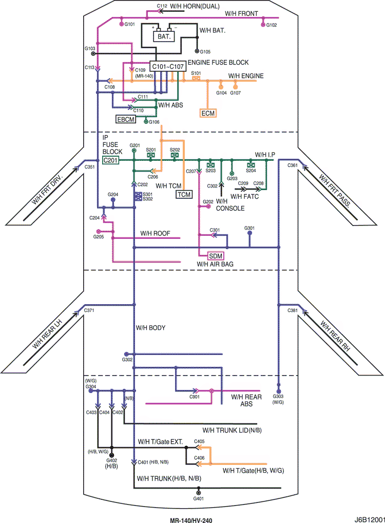распиновка разъема c202 машины chevrolet lacett